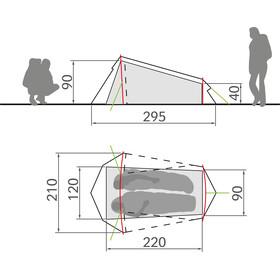 VAUDE Arco 1-2P Telt, buckeye